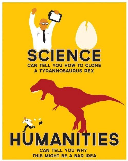 HumanitiesJurassic Parks, Halloween Costumes, Trex Funny, Teachers Stuff, Posters, Bad Ideas, Funny Stuff3, Science, Human