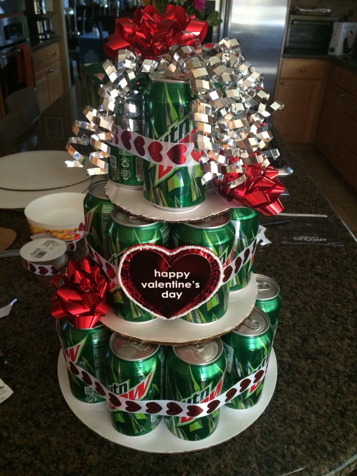 Mountain Dew Can Cake for Valentine's Day❤️