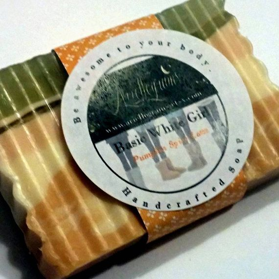 Is your favorite color October? Cant get enough of pumpkin spice flavored drinks? This soap is perfect to use before you put on your Uggs, and yoga pants $5.00 #handmade #soap #stockingstuffer