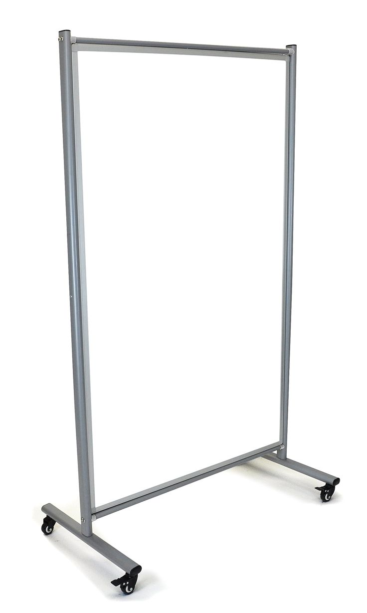 Offex Home Office Mobile Rolling Whiteboard Room Divider (OF-MD4072W)
