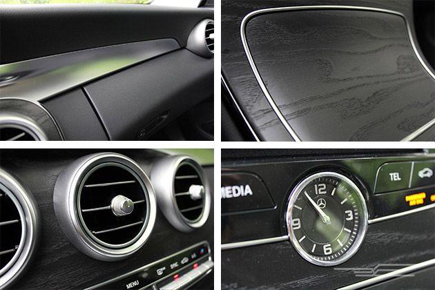 2015 Mercedes Benz C300 interior