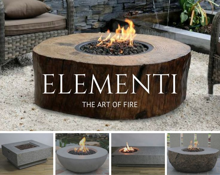 hand crafted and rustic design artisan fire pits and fire tables from elementi are constructed
