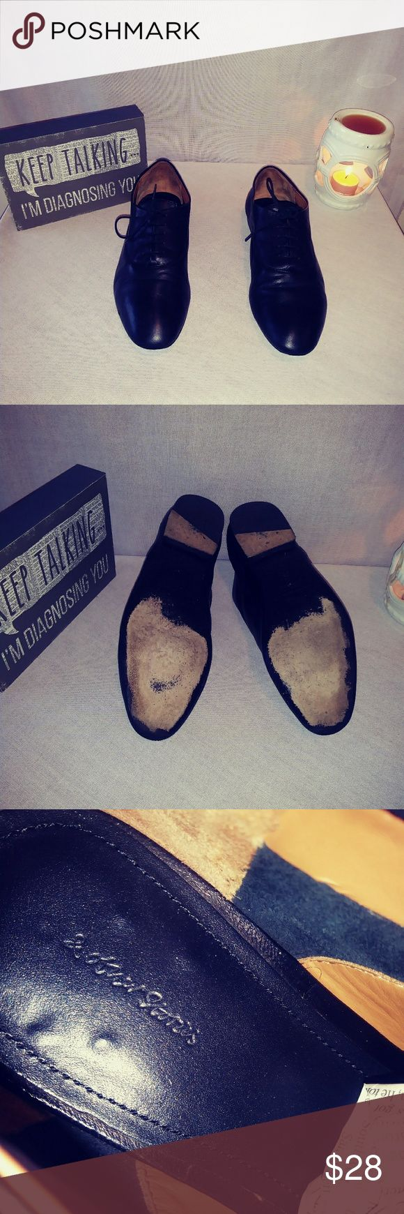 &Other Stories Loafers &Other Stories -black - leather -lace up loafers- size 6.5 - some wear - comfy and cozy- perfect with skirts or pants &other stories Shoes Flats & Loafers