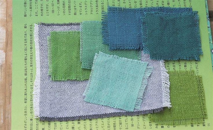 somptueuses couleurs des lins de Tricia Guild