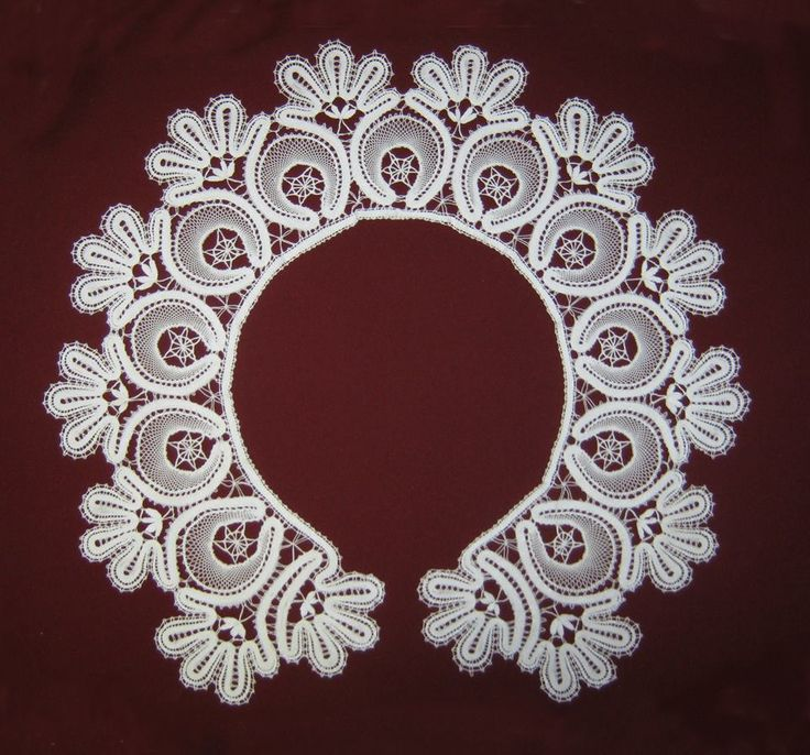 Hungarian tape lace