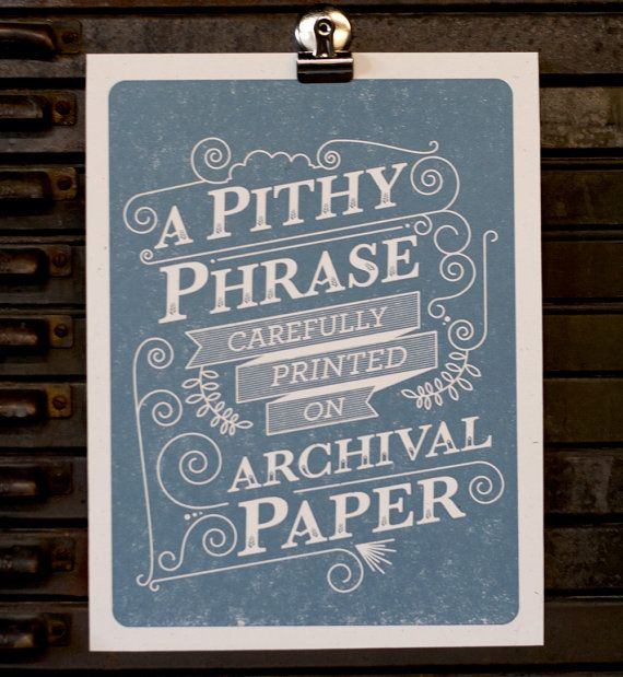...: Vintage Typography, Archives Paper, Chalk Letters, Pithi Phrases, Graphics Design, So True, Fun Facts, Funny Stuff, Posters Typography