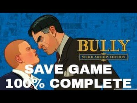 bully scholarship edition save game 100 pc download