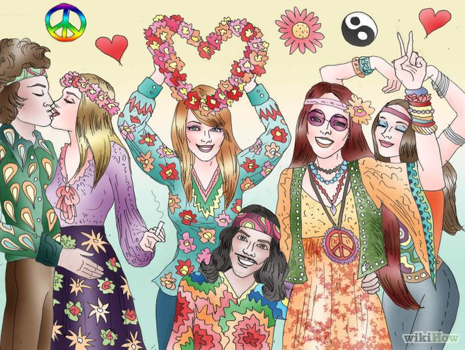 How to be a Hippie! Pinterest: Chlover98