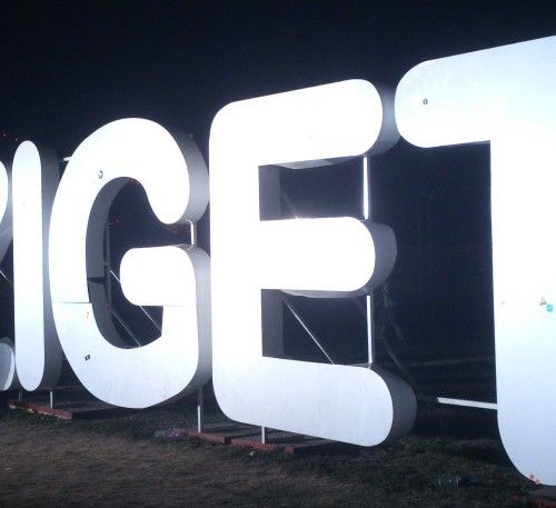 Sziget Festival sign... get ready for Sziget 2014!