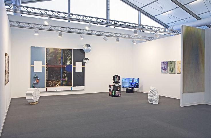 Frieze Art Fair 2014, London Works by Helen Marten, Sam Falls, Dan Rees, May Hands, Emanuel Rohss