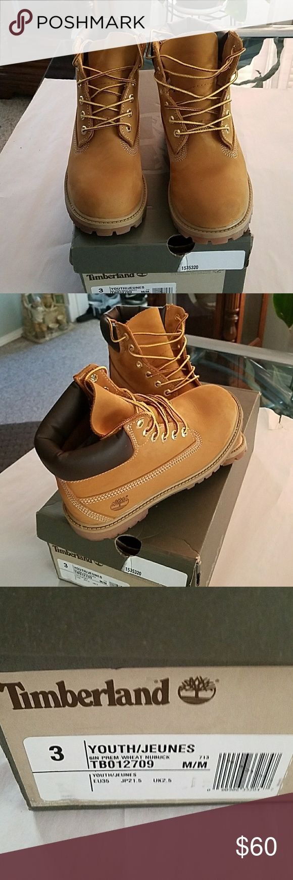 Timberland youth boots size 3 I  original bos In superb condition. Timberland Shoes Boots