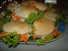 Cantinho da Nani: Minilanche natural (com receita de pão sirio)