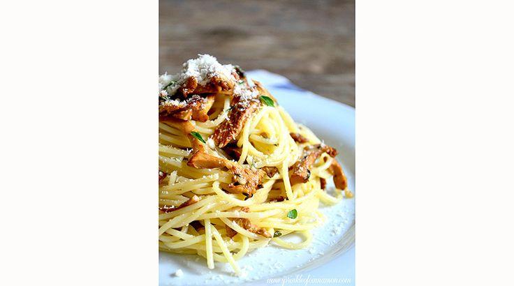 Slider chanterelle mushrooms pasta 860x480