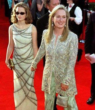 Meryl Streep   Ela e filha no oscar 2000