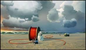 Poul Anker Bech: Efterårsmail fra en kabeltromle