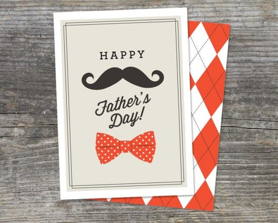 Free Printable Father's Day Card by Brightside Prints: Happy Father Day, Ideas, Father Day Printable Cards, Father'S Day, Fathersday, Free Printable, Father, Fathers Day Cards, Printable Father Day Cards