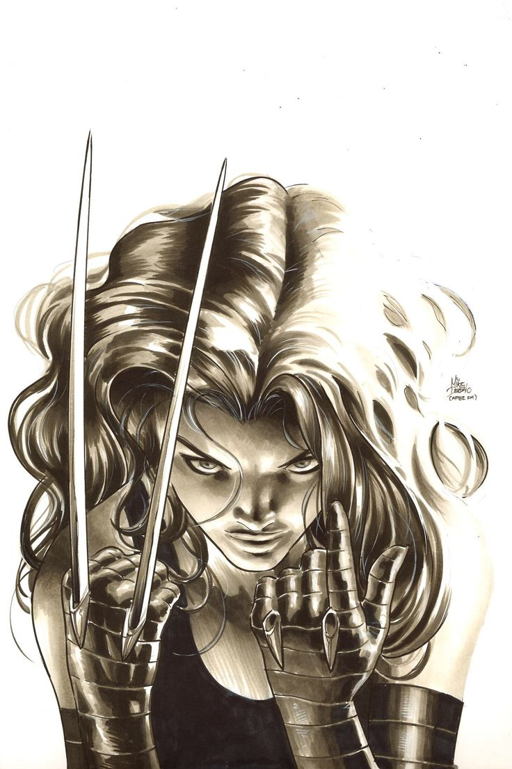 X-23. B  by Mike Deodato Jr.
