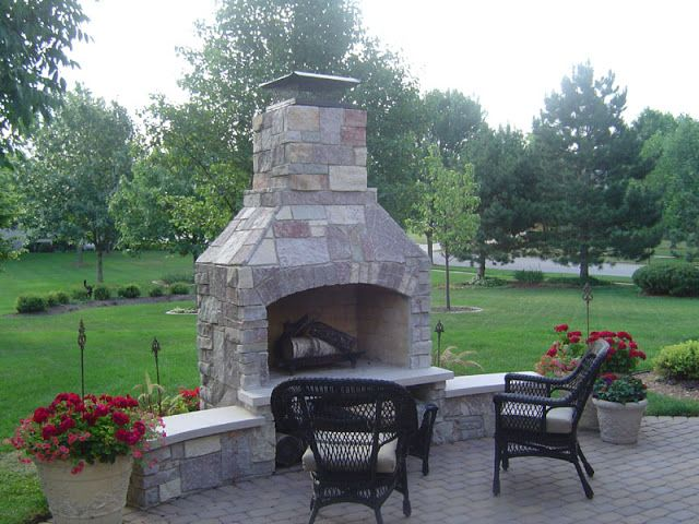 Nice Outdoor Fireplace Kits For The DIYer