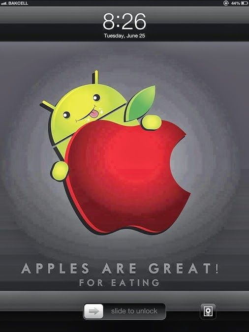Apples Are Great For Eating From Funny Technology