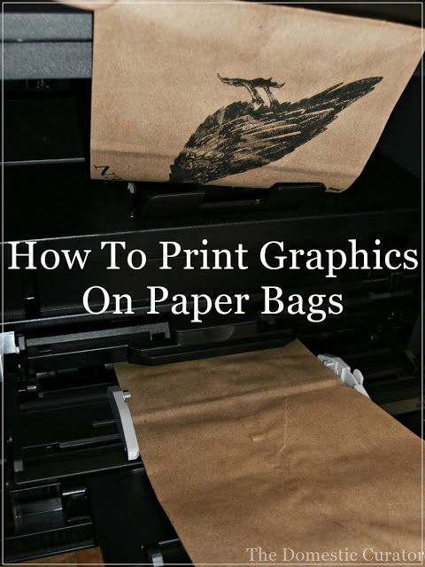 How To Print Graphics On Paper Bags