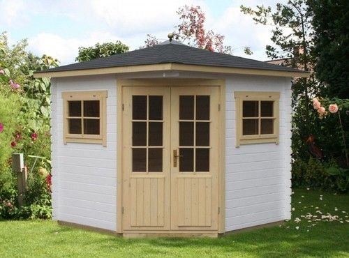 5-Eck Gartenhaus Modell Sunny-A