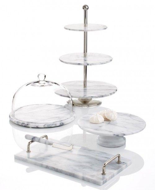 Marble Inspired Serveware