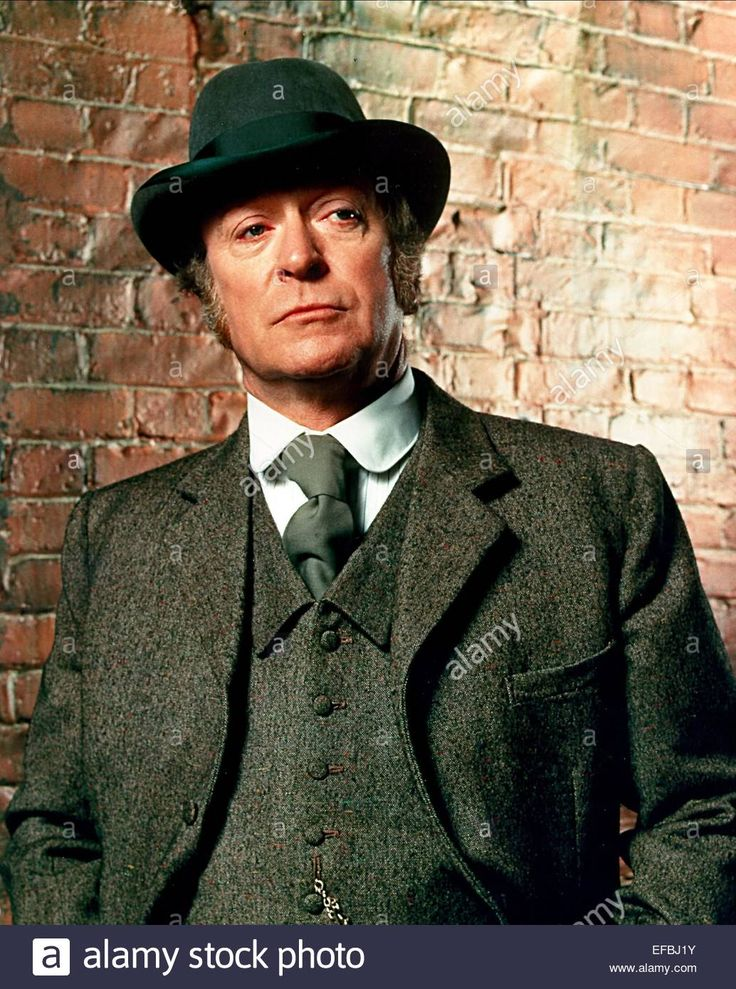 Download this stock image: MICHAEL CAINE JACK THE RIPPER (1988) - EFBJ1Y from Alamy's library of millions of high resolution stock photos, illustrations and vectors.