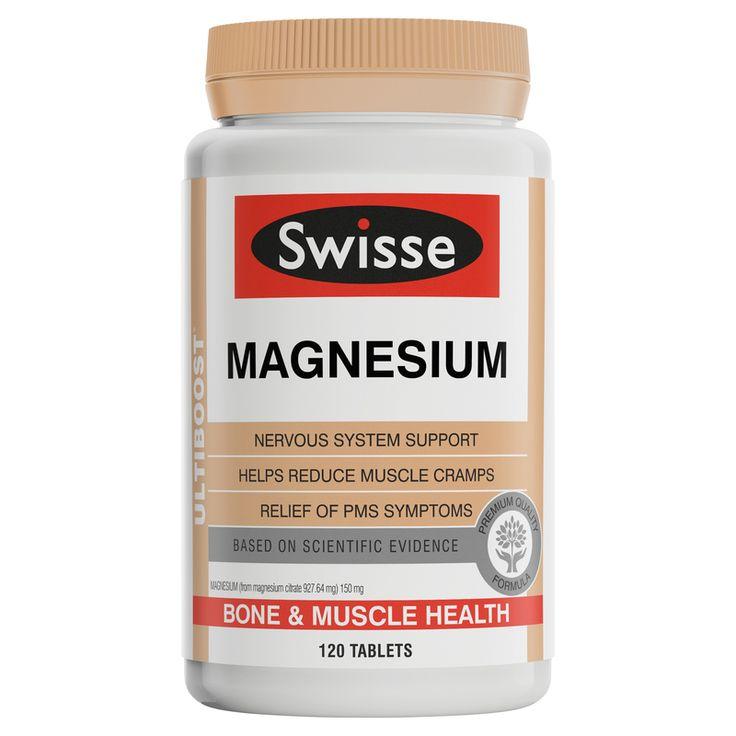 Swisse Magnesium Tablets 120