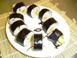 Heavy Metal Vegan Sushi from CookingChannelTV.com