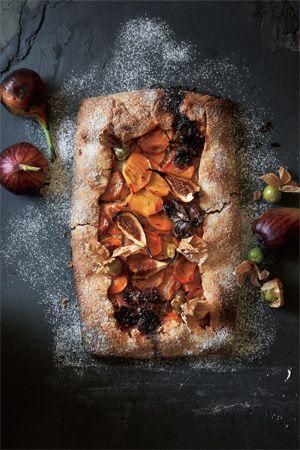 柿やぶどう秋のフルーツが満載アーティな秋レシピ