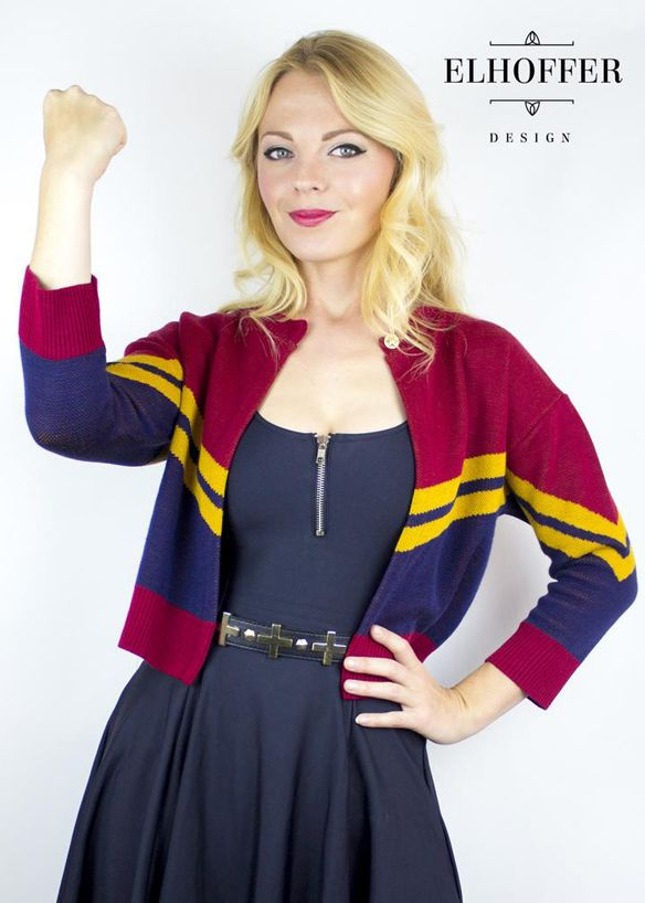 Captain Marvel Corps Cardigan