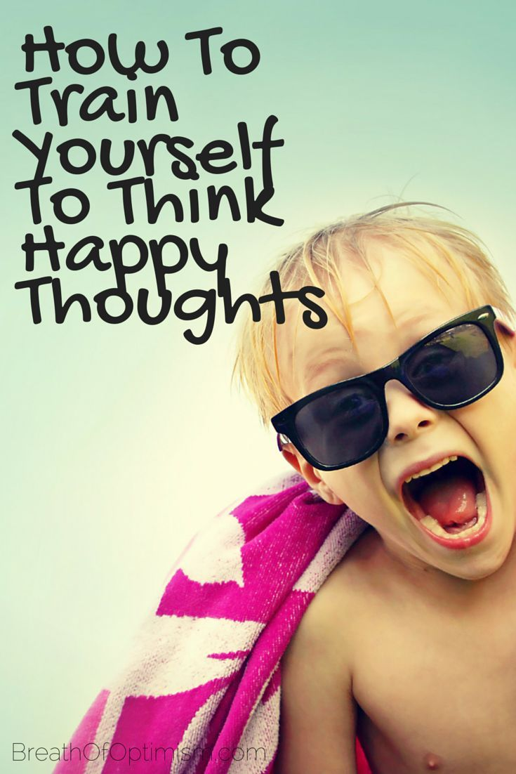 Do you find yourself always going right to the negative when you hear or see something? Do you tend to always think negative thoughts? If so, don't be alarmed. Many of us have a natural instinct to think negative thoughts before happy thoughts.  http://www.breathofoptimism.com/how-to-train-yourself-to-have-happy-thoughts/