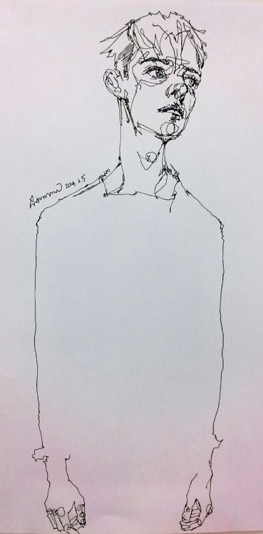 Teachertube Contour Line Drawing : Best continuous contour line portraits images on pinterest