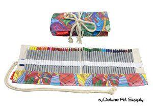 Great #BackToSchool gift idea for #grandkids: colored pencils w/roll-up https://amzn.com/B01C3IHPEA/?tag=helloindigo-20 #grandkids #agewell