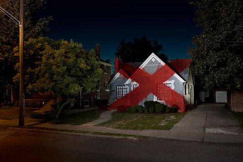 La x marca el el hogar