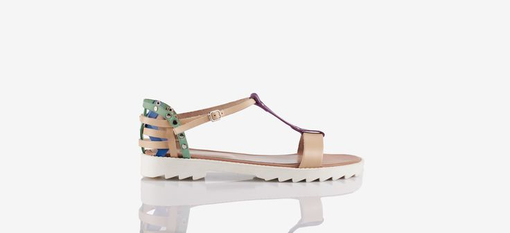 ''Puka'' d'orsey sandal