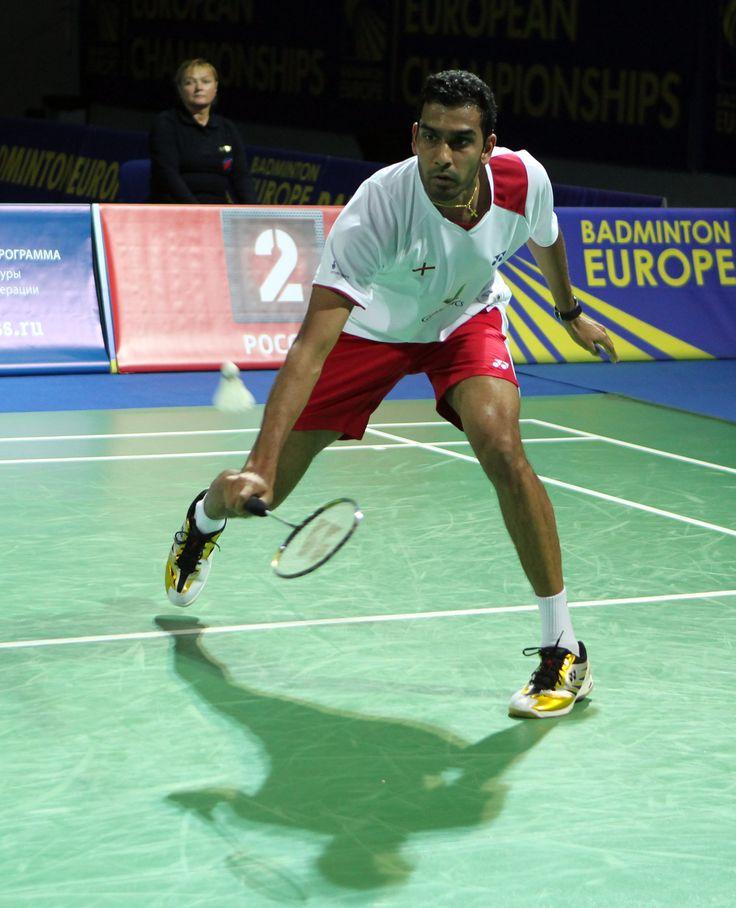 Rajiv Ouseph - Badminton. Singles.