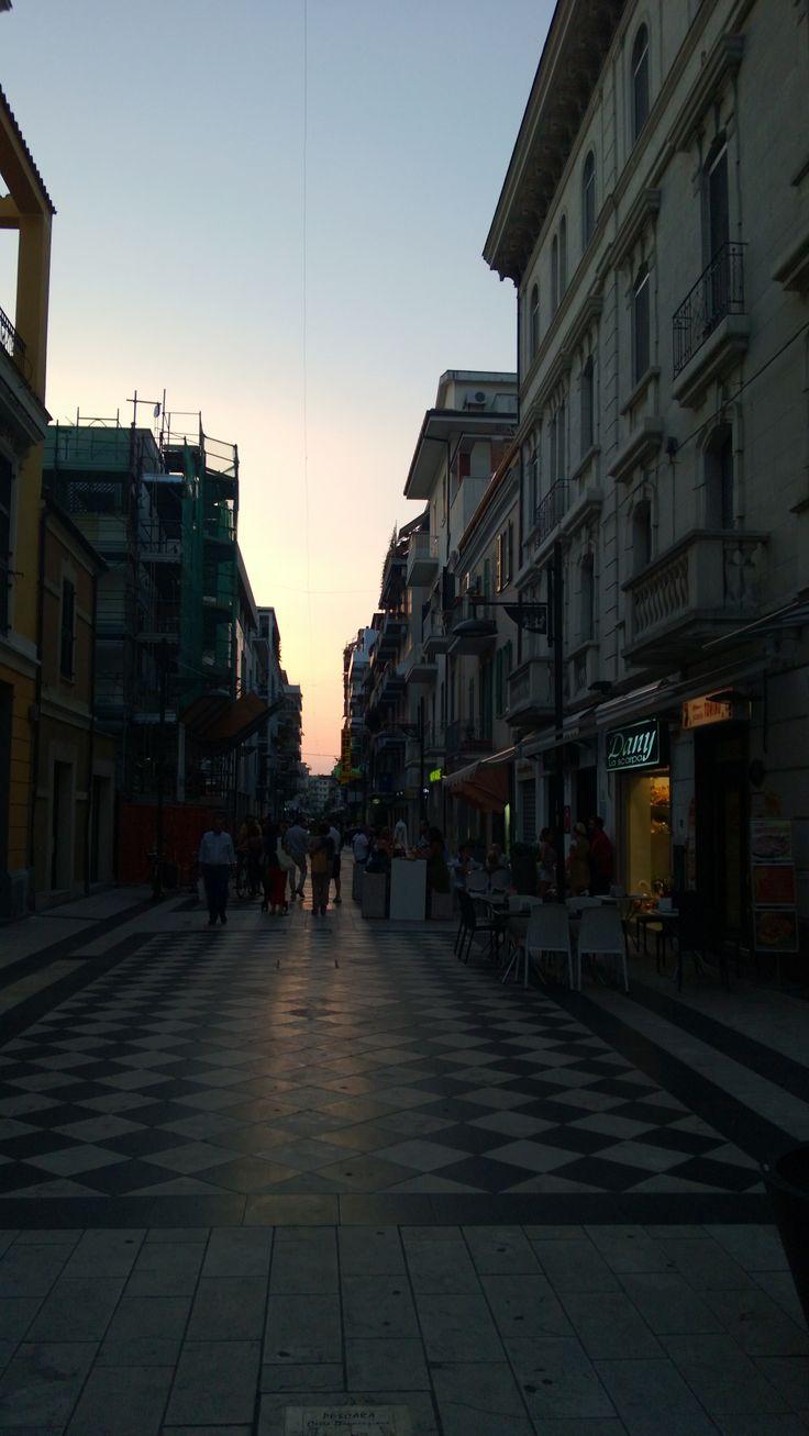 Pescara city center