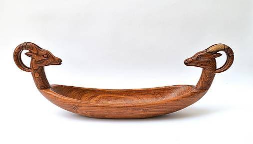 Drevená Misa Gazela
