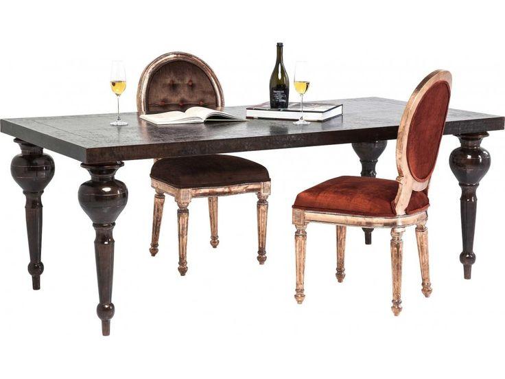 Stół Chalet Louis brązowy — Stoły — KARE® Design