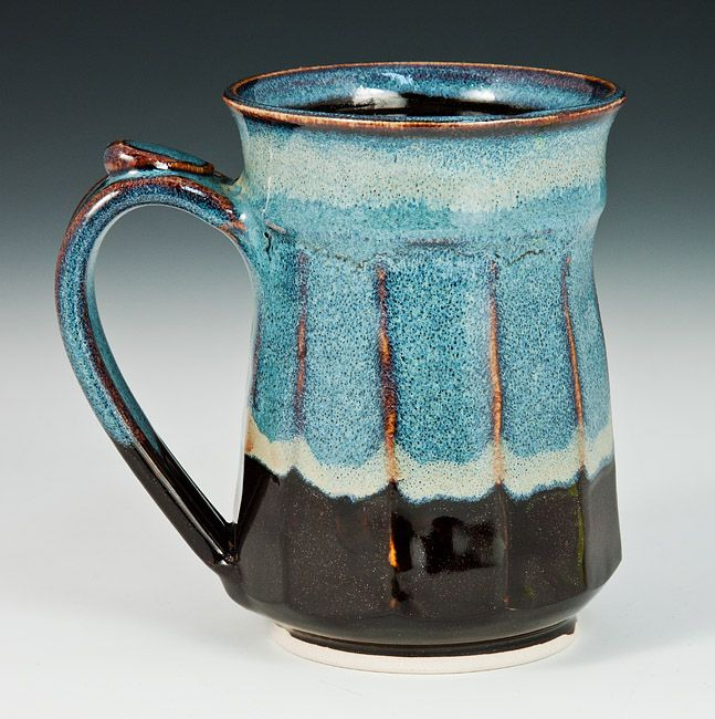 Tall Black Coffee Cup | Biff Bourne | American Crafts
