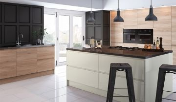Pronto Gloss Cream Kitchen - By BA Components.