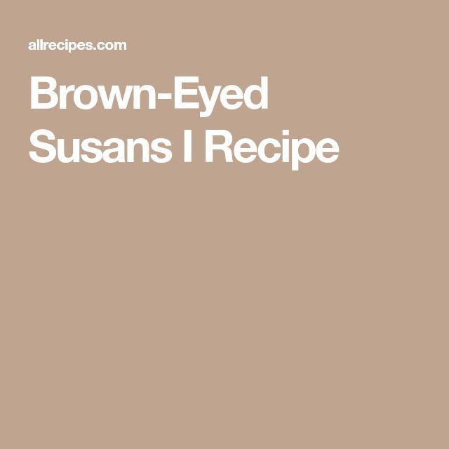 Brown-Eyed Susans I Recipe