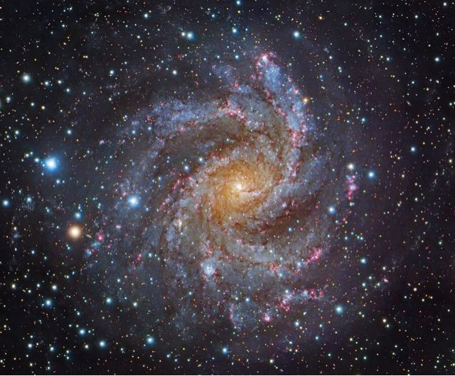 """""""Facing NGC 6946"""" is NASA's Astronomy Picture of the Day"""