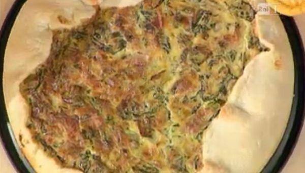 La ricetta della torta salata con formaggio di Alessandra Spisni