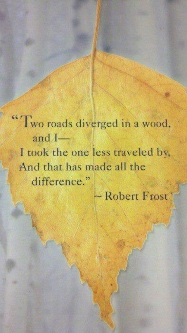 ❤️❤️ I absolutely love Robert frost.