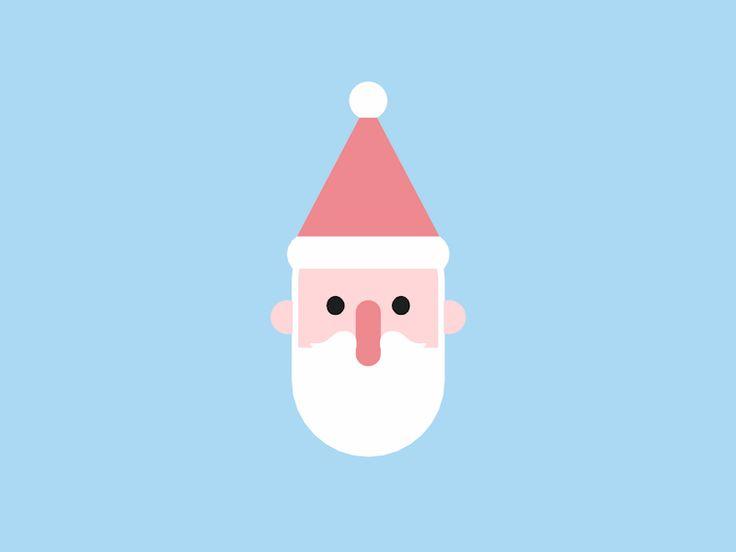 Weihnachten steht vor der Tür … gestaltet von Yvonne Fung. Verbinde dich mit ihnen auf Dribbble; t …   – Motion