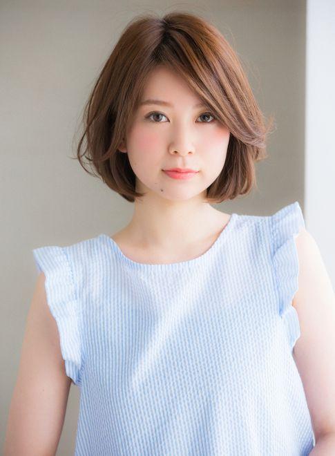 大人女性に人気!ふんわり感のある小顔ボブ 【Ramie】 http://beautynavi.woman.excite.co.jp/salon/27006?pint ≪ #bobhair #bobstyle #bobhairstyle #hairstyle・ボブ・ヘアスタイル・髪型・髪形 ≫