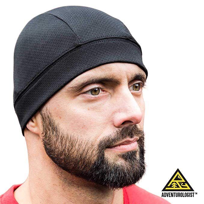 SKULL CAP BLACK 2 PACK, ideal für Männer und Frauen als Helmliner, Thermal Cyclin …   – Cycling Clothing