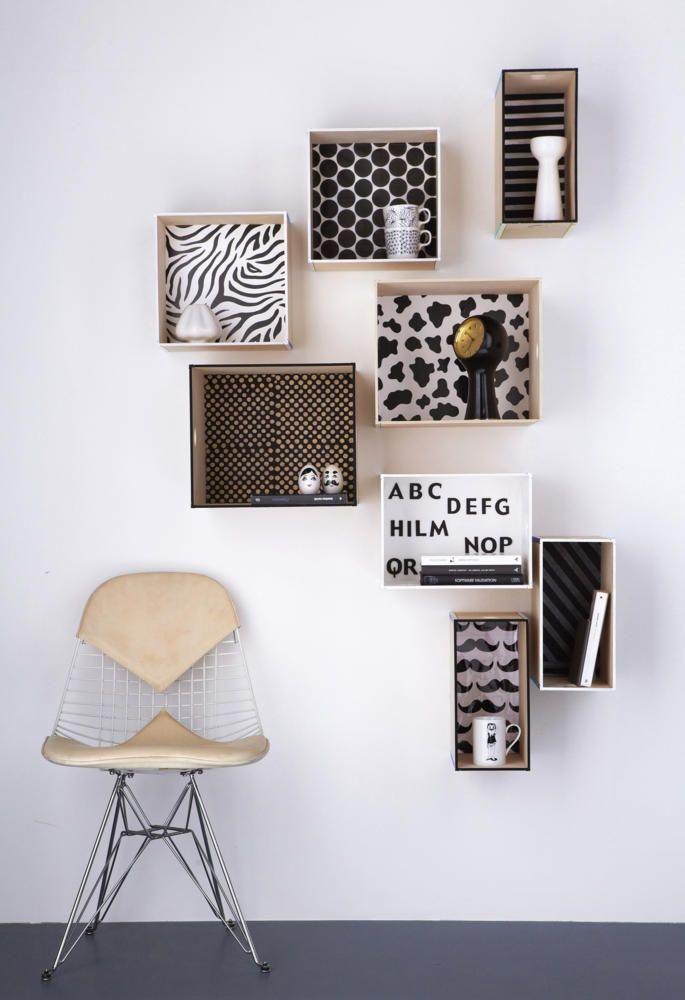 opbergen - wand - organize - wall decor